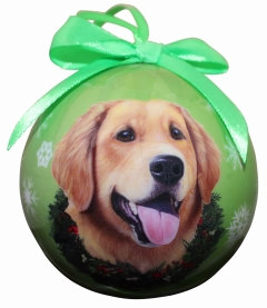 Christmas Ornament - Golden Retriever