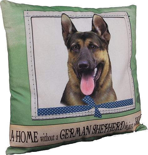 Plush Pillow - German Shepard