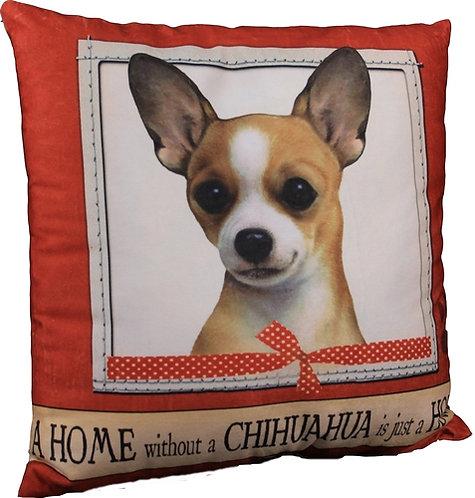 Plush Pillow - Chihuahua, Tan