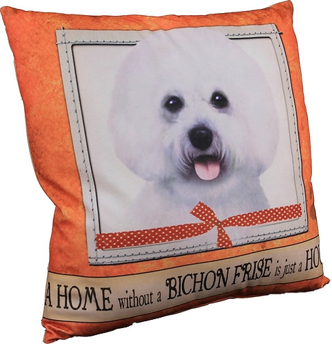 Plush Pillow - Bichon Frise