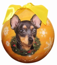 Christmas Ornament - Chihuhua - Black