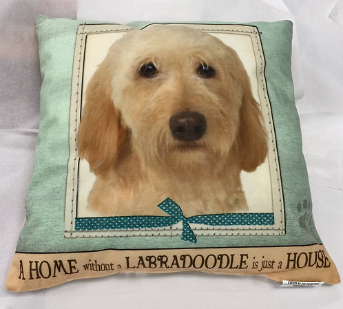 Plush Pillow - Labradoodle