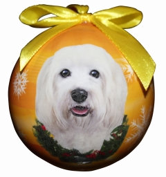 Christmas Ornament - Havanese