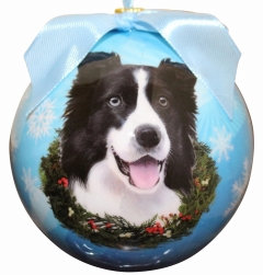 Christmas Ornament - Border Collie