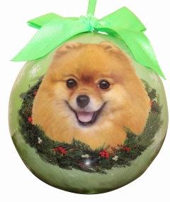 Christmas Ornament - Pomeranian