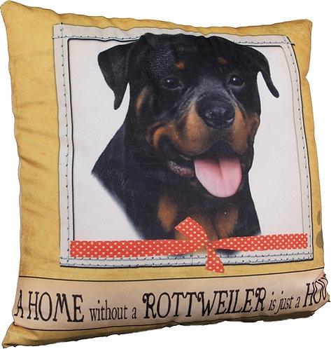 Plush Pillow - Rottweiler