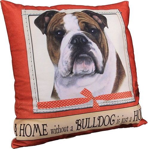 Plush Pillow - Bulldog