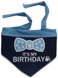 Its My Birthday Scarf - Navy