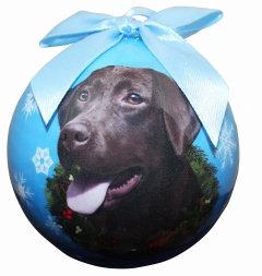 Christmas Ornament - Labrador - Chocolate
