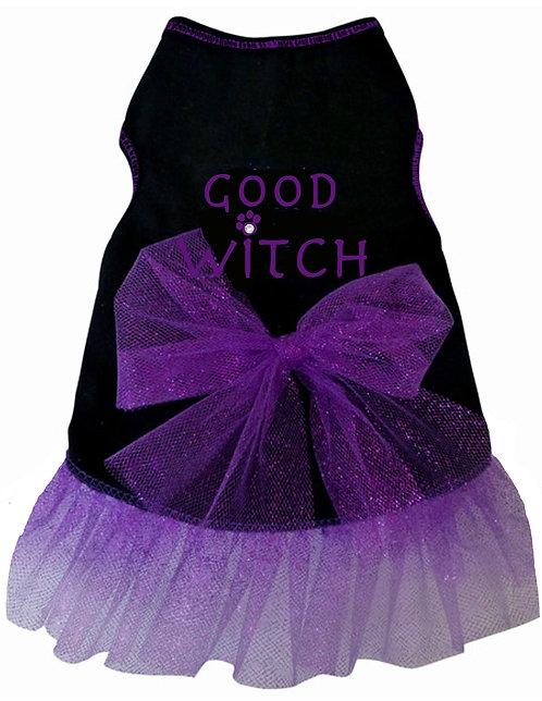 Good Witch Tank Dress - Black