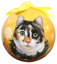Christmas Ornament - Cat - Calico