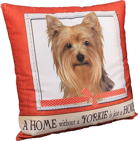 Plush Pillow - Yorkie