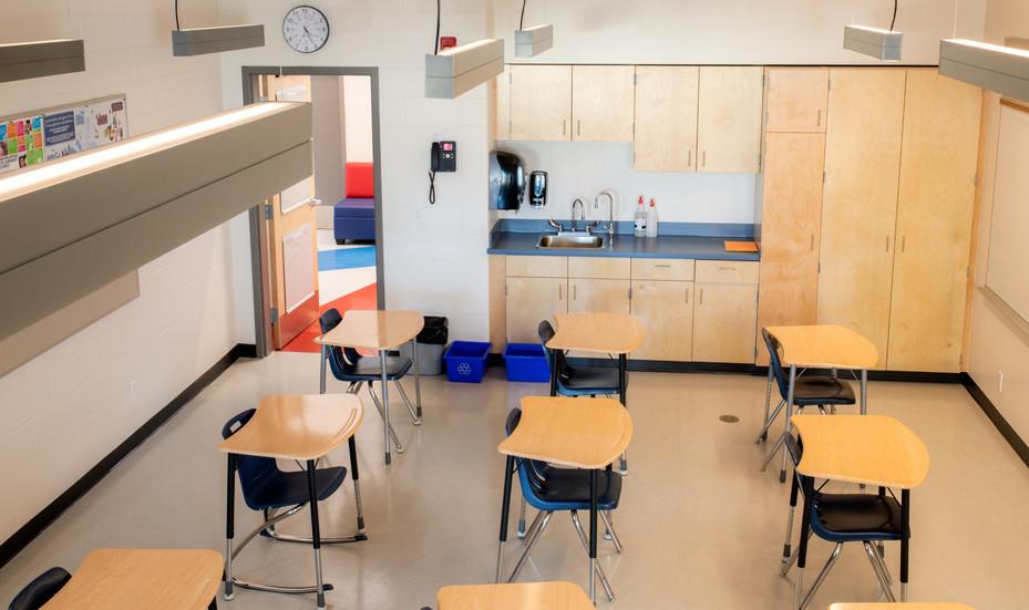 Les Cypres School Interior
