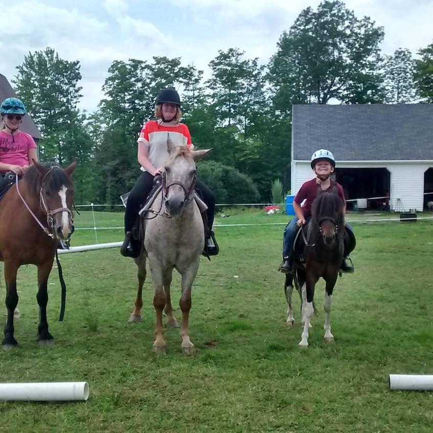 Pony Rides in the agriculture area!