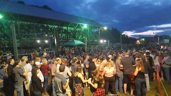 Springfield maine fairgrounds summer concert series