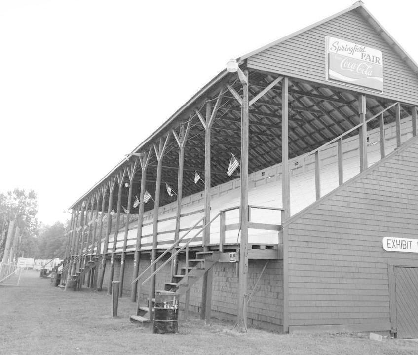 The grandstand at the Moore Family S