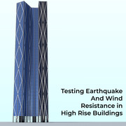 Testing high rise structure