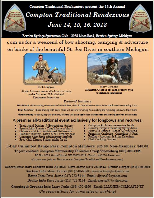 2013 Rendezvous Flyer