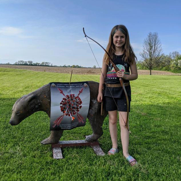 Cheyenne Mitten, age 9