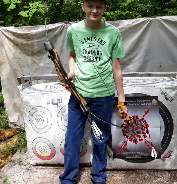 James at the 3 Trails Archery Club