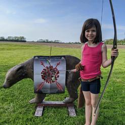Gabby Mitten, age 5
