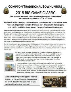 2018 Compton Big Game Classic