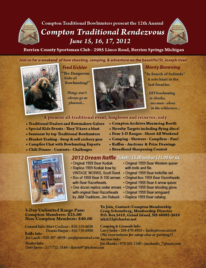 2012 Rendezvous Flyer