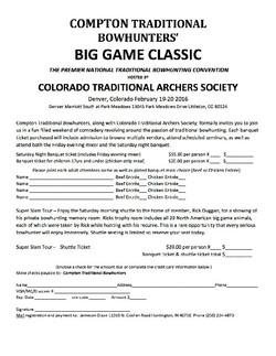 2016 Big Game Classic