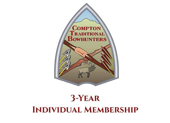 3-year Individual Membership