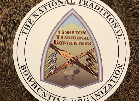 Compton Traditional Decal Round