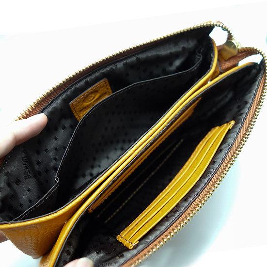 Reinette | 牛皮長款錢包