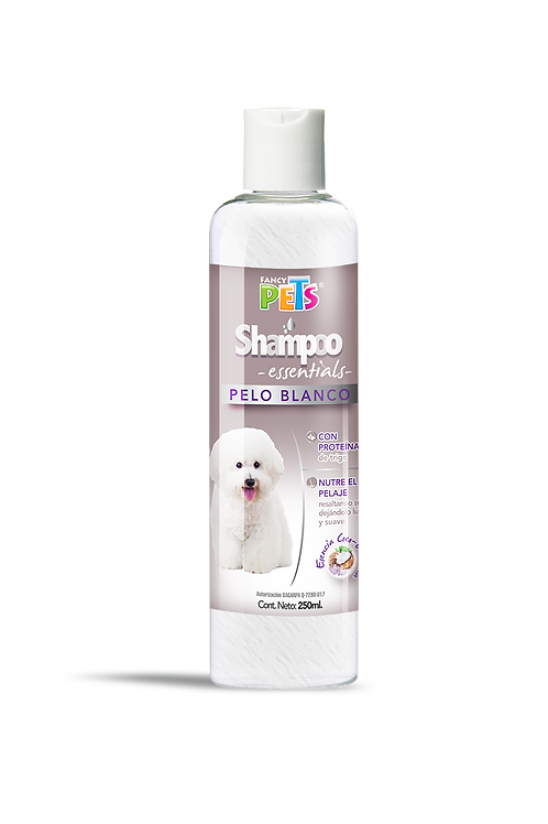 SHAMPOO ESSENTIALS PELO BLANCO 250 ML