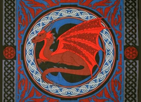Dragon Tapestry 52 x 76