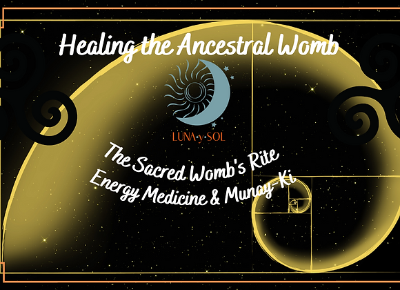 Healing the Ancestral Womb (Sundays, June 6-27, 3-5pm PST)