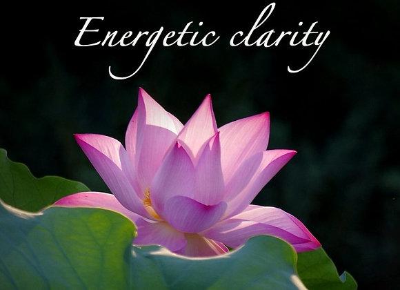 Energetic Clarity 1-3