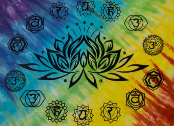 Lotus Flower Altar Cloth 36 x 36