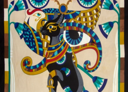 Egyptian Tapestry 52 x 76