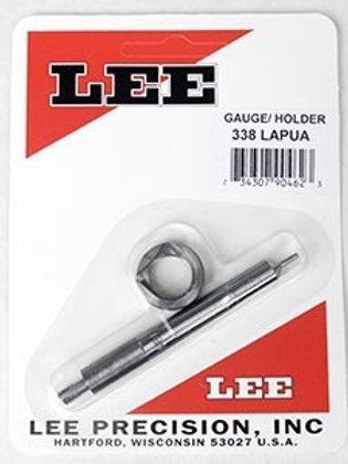 Lee Precision Case Length Gauge Gage & Shell Holder 338 Lapua Mag - 90462