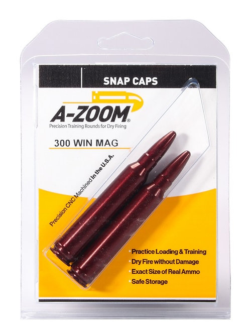 300 Win Mag Snap Caps - Pack of 2 Ref: 12237