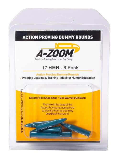 17 HMR Dummy Rds - Pack of 6 Ref: 12202