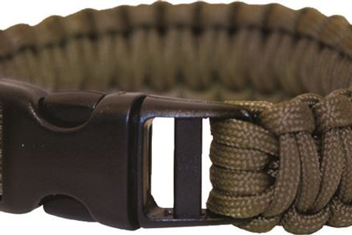 Paracord Bracelet (Plastic Clasp) Coyote Brown BCB-CM073