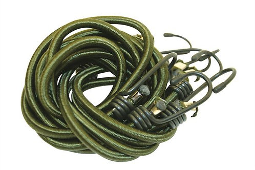 Olive Green Bungees (4) 1Mtr - BCB-CM031