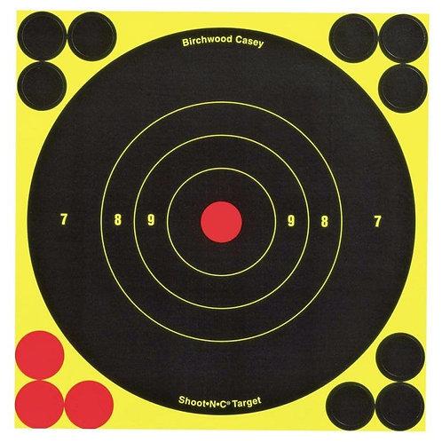 Shoot N C - 6 Inch Targets x 60 Birchwood Casey 34550