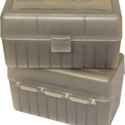 MTM Case-Gard Ammo Box RM50 - P50 Series .308/7.62 Nato 50 Rds - Mixed Colours
