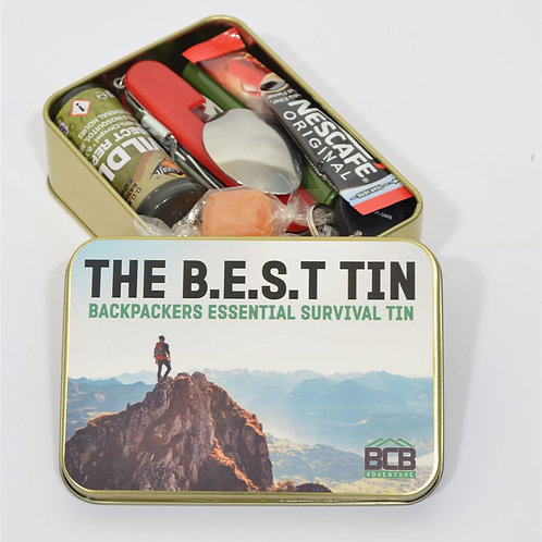 Backpackers Essentials Survival Tin - The Best BCB-ADV057