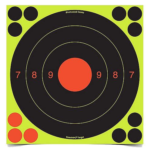 Shoot N C - UIT 20cm 25/50 Meter 30 Target Pack Birchwood Casey 34081