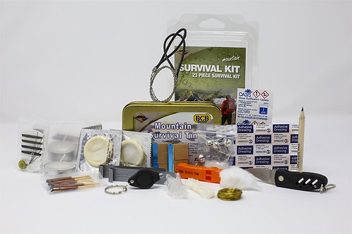 Mountain Survival Tin BCB-CK019L