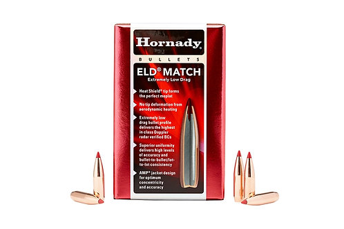 "50 x ELD Match 338/.338"" 285gr BT Bullets HORN-33381"