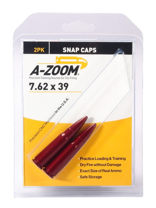 7.62 x 39 Snap Caps - Pack of 2 Ref: 12234