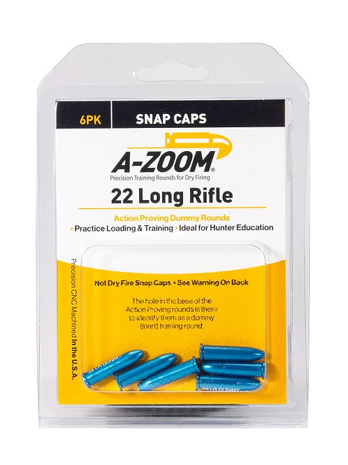 22 Rimfire Dummy Rds - Pack of 6 Ref: 12208